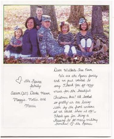 Tree Farm Letter