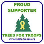 Proud Supporter – Trees for Troops – www.treesfortroops.org